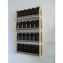 Gewürzregal mit 24 Gläsern