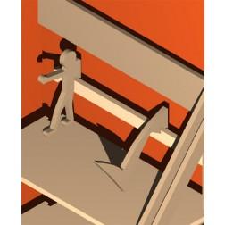 Archivierungshilfe/ Buchstütze/ Teiler - das Helferlein