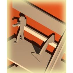 Archivierungshilfe/ Buchstütze/ Teiler der Haken