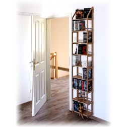 DVD Wandregal über zwei Meter hoch für fast zweihundert DVDs