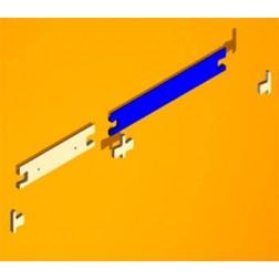 Wandbefestigung -leiste für Jennifer Regale 49 cm breit