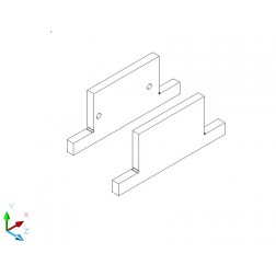 Sockelaufdoppellung - Birke Multiplex