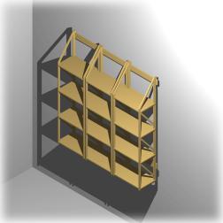 Bücherregalsystem