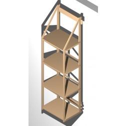 wandregale f r ordner toll zum ausnutzen kleiner fl chen. Black Bedroom Furniture Sets. Home Design Ideas