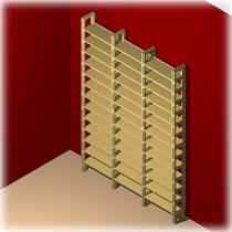 das regal f r die aufbewahrung von bd regaflex. Black Bedroom Furniture Sets. Home Design Ideas
