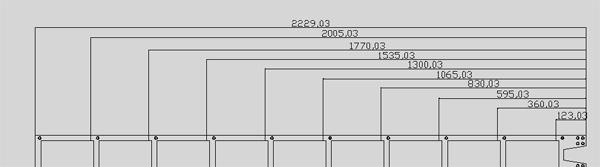Maße des regaflex DVD regalsystem DSS