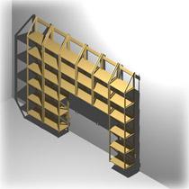 wohnliche b cherregal systeme f r ihr zuhause regaflex. Black Bedroom Furniture Sets. Home Design Ideas
