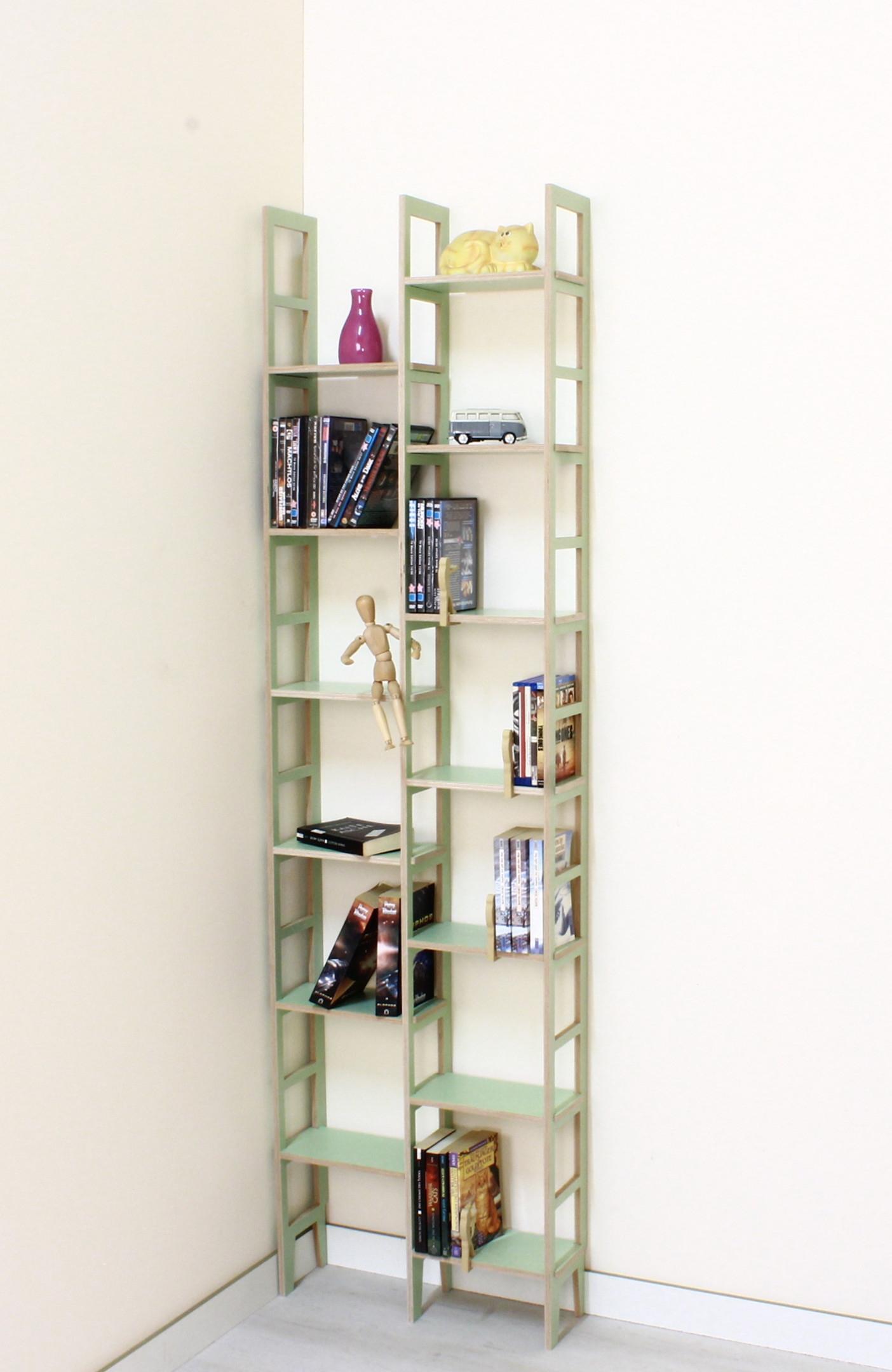 IDEE Bücherregal Pastelgrün